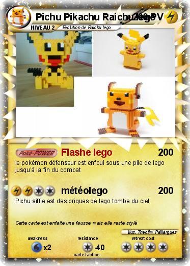 Coloriage Pichu Pikachu Raichu