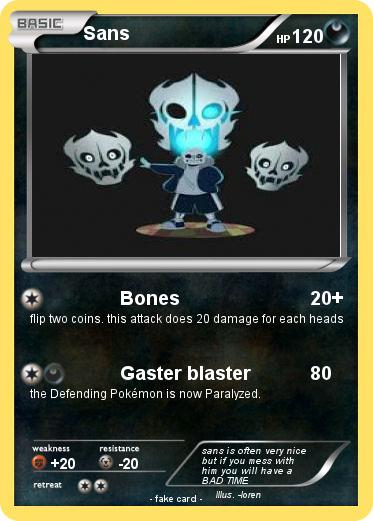Pokémon Sans 2889 2889 - Bones - My Pokemon Card