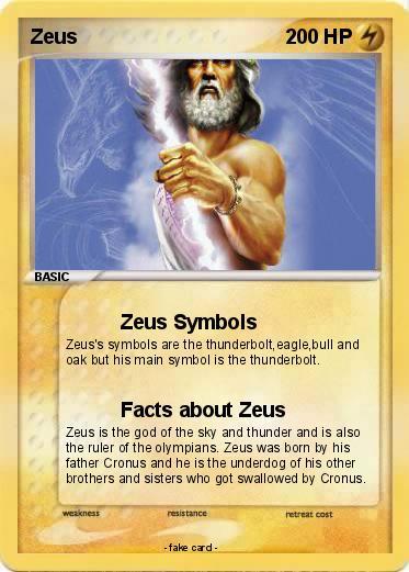 Pokmon Zeus 1253 1253 Zeus Symbols My Pokemon Card