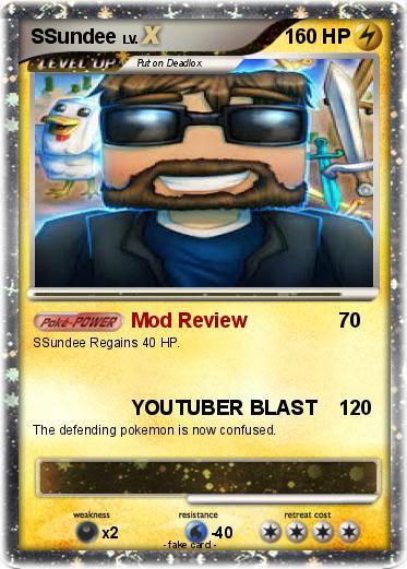 Pokémon SSundee 6 6 - Mod Review - My Pokemon Card