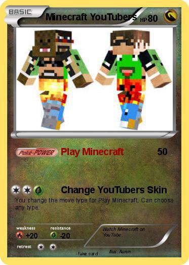 Minecraft Spielen Deutsch Skins Para Minecraft Youtubers Bild - Skin para youtuber minecraft indo