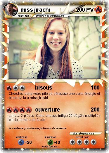 Pok mon miss jirachi 15 15 bisous ma carte pok mon - Carte pokemon jirachi ...