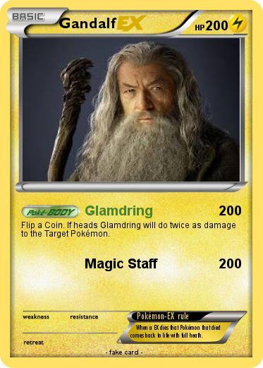 Pokémon Gandalf 437 437 - Glamdring - My Pokemon Card