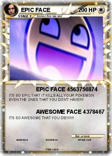 pok233mon epic face 144 144 epic face 4563756874 my