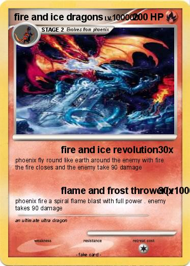 Pokemon Fire And Ice Dragons
