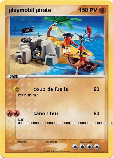 Pok mon playmobil pirate coup de fusils ma carte pok mon - Coloriage playmobil pirate ...