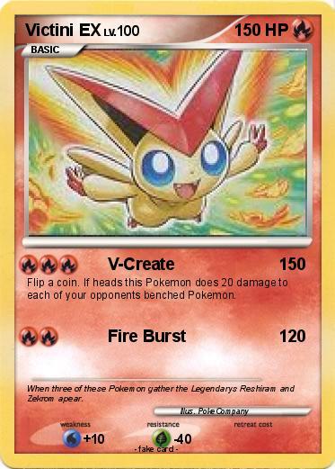 Pokémon Victini E...