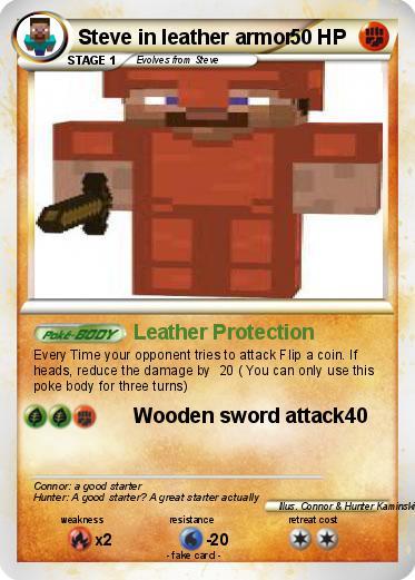 wooden armor minecraft