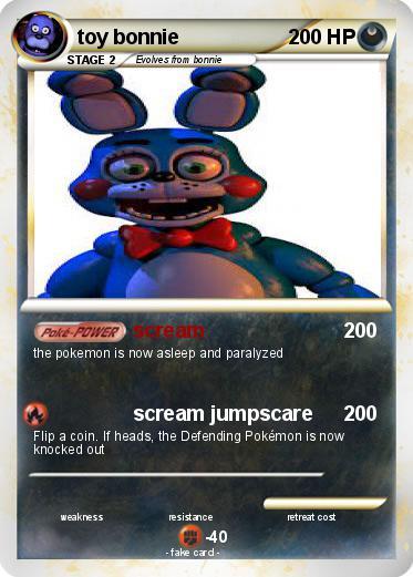 pokémon toy bonnie 30 30 scream my pokemon card