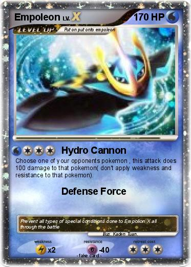 Empoleon pokemon card