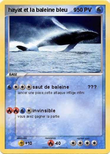 Pok mon hayat et la baleine bleu 9 9 saut de baleine - Pokemon baleine ...