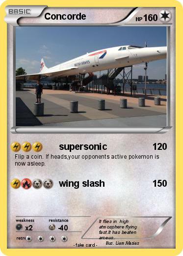 pokémon concorde 21 21 supersonic my pokemon card