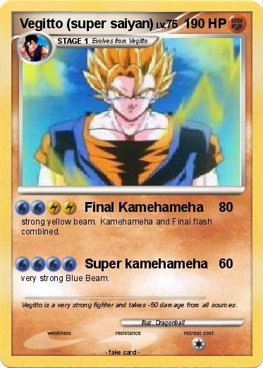 Pokemon Vegitto Super Saiyan