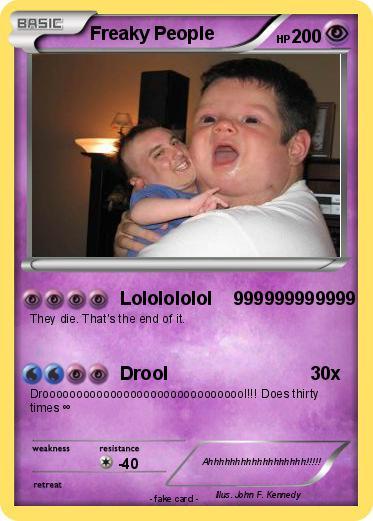 Pokemon Freaky People
