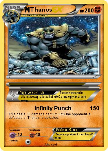 What Cards Are In A Tarot Deck: Pokémon Thanos 62 62