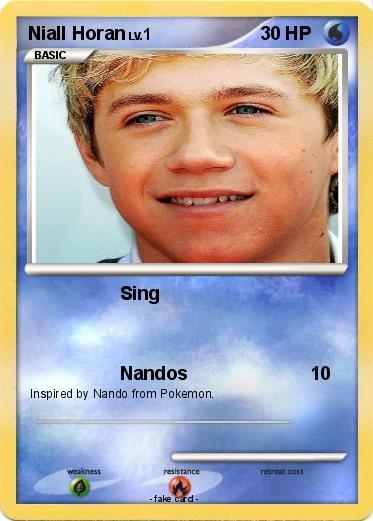Pokemon Niall Horan 37