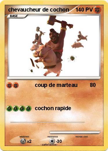 Pok mon chevaucheur de cochon 5 5 coup de marteau ma - Cochon pokemon ...