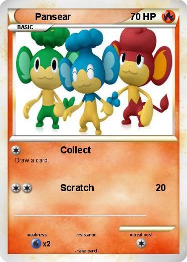 pokemon pansear