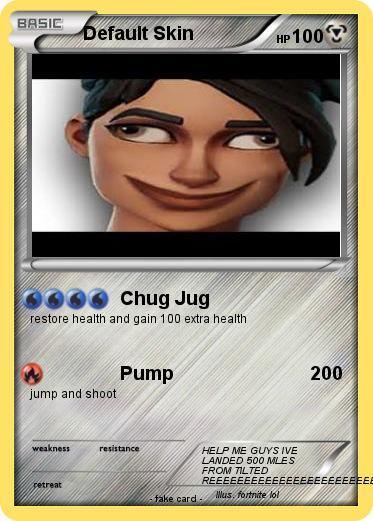 Pok 233 Mon Default Skin 2 2 Chug Jug My Pokemon Card
