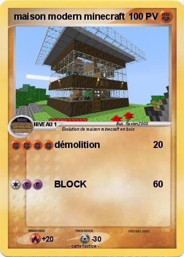 Pok mon maison modern minecraft d molition ma carte pok mon - Regarder 7 a la maison gratuitement ...