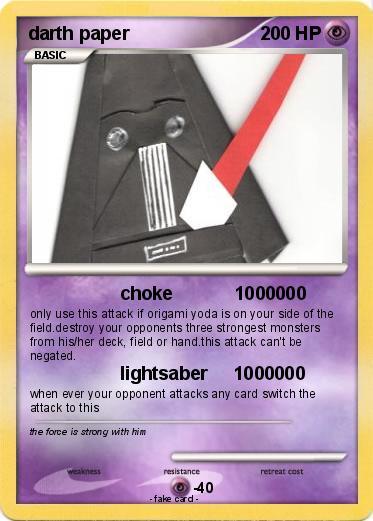 Pokemon Darth Paper 12