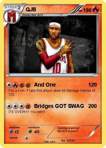 Pok 233 Mon Qjb 1 1 And One My Pokemon Card