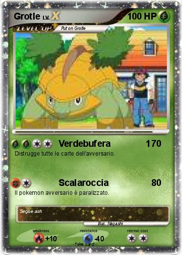 Pokémon Grotle 33 33 Verdebufera 1 My Pokemon Card