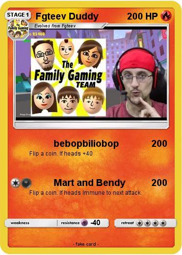 Pok 233 Mon Fgteev Duddy 2 2 Bebopbiliobop My Pokemon Card