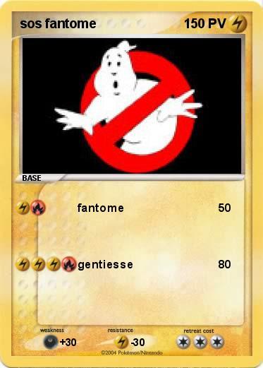 Pokémon sos fantome - fantome - Ma carte Pokémon