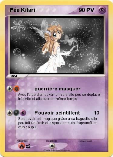 Pok mon fee kilari guerri re masquer ma carte pok mon - Carte pokemon fee ...