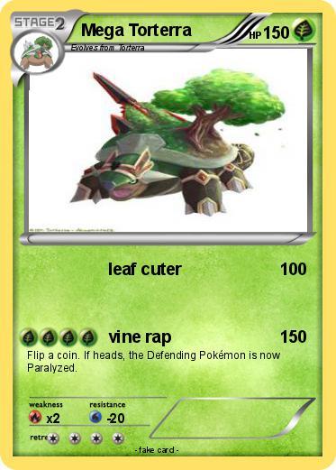 Pokémon Mega Torterra 23 23 - leaf cuter - My Pokemon Card