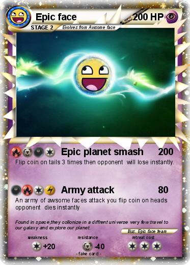 pok233mon epic face 1496 1496 epic planet smash my