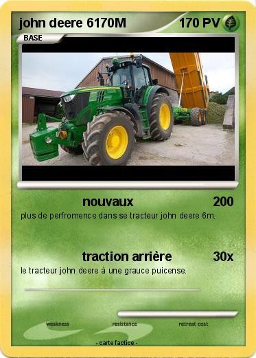Pok mon john deere 6170m nouvaux ma carte pok mon - Dessin anime de tracteur john deere ...
