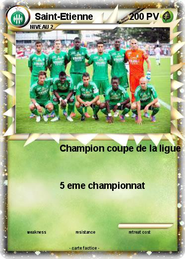 Pok mon saint etienne 3 3 champion coupe de la ligue - Saint etienne paris coupe de la ligue ...
