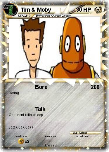 pokémon tim moby 1 1 bore my pokemon card