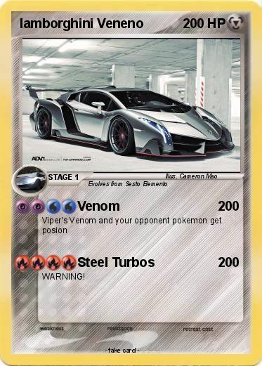 Pokemon Lamborghini Veneno 2