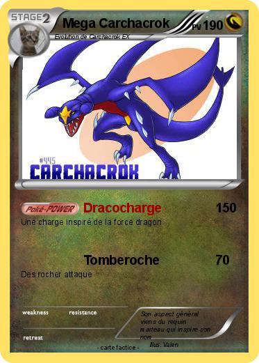 Pokemon mega carchacrok - Mega carchacroc ...