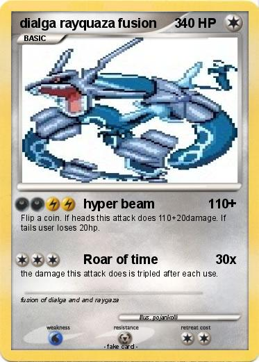 pok mon dialga rayquaza fusion 3 3 hyper beam 110 my pokemon card rh mypokecard com pokemon mega lucario coloring pages pokemon mega lucario coloring pages - Rayquaza Coloring Pages