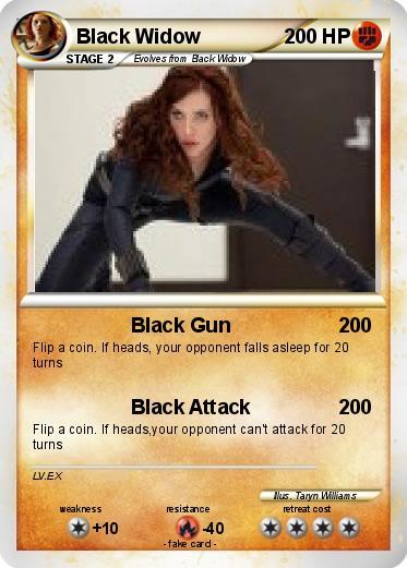widow card