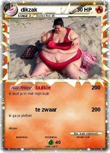 pok mon dikzak 17 17   buikie   my pokemon card