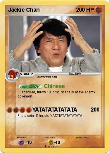 Pokémon Jackie Chan 144 144 - Chinese - My Pokemon Card
