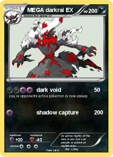 Pokémon MEGA dark...