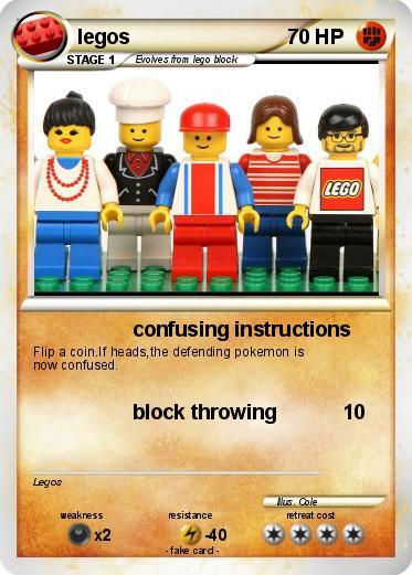 Pokmon Legos 20 20 Confusing Instructions My Pokemon Card