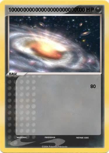 pokémon 100000000000000000000000 3 3 my pokemon card