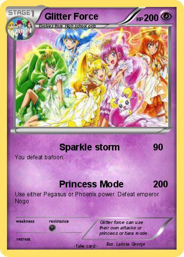 Pokémon Glitter Force 5 5 - Sparkle storm - My Pokemon Card