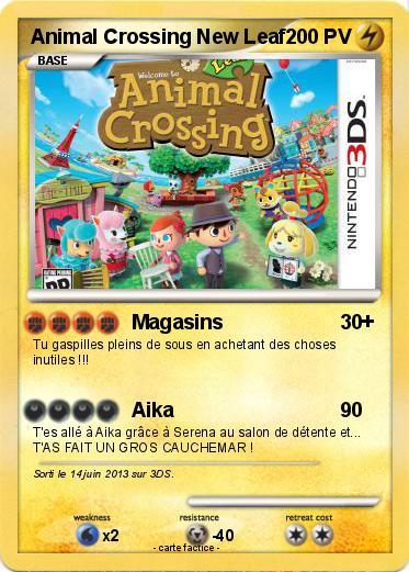 Coloriage Animal Crossing New Leaf.Pokemon Animal Crossing New Leaf 3 3 Magasins Ma Carte Pokemon