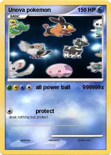 Pokmon Unova Pokemon