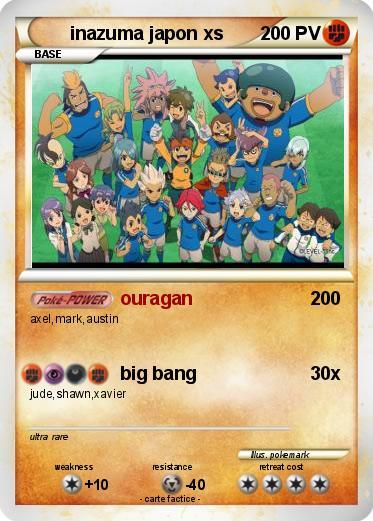 Pokémon Inazuma Japon Xs Ouragan Ma Carte Pokémon