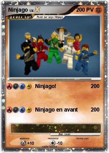 Pok mon ninjago 215 215 ninjago ma carte pok mon - Carte ninjago ...