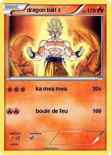Pok mon dragon ball z 132 132 ka mea mea ma carte pok mon - Carte pokemon dragon ...
